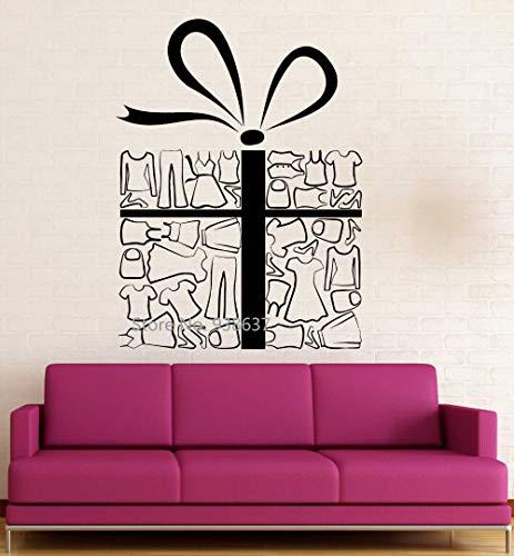 Schaufenster Wandaufkleber Vinyl Aufkleber Geschenk Shop Verkauf Urlaub Einkaufen Rabatte Abnehmbare Kunst Aufkleber Perfekte Qualität Z 84x116 cm