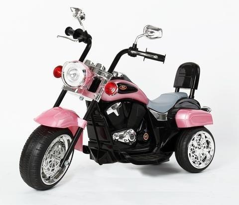 Harley Davidson-Stil Kinder 3-Rad-Chopper 6V Elektromotor Trike Rosa