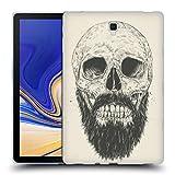 Head Case Designs Officiel Balázs Solti Barbe n'est Pas Morte Crânes Étui Coque en Gel Molle pour Samsung Galaxy Tab S4 10.5 (2018)
