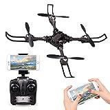 Konomio Quadrocopter Ferngesteuert, WIFI FPV RC Drohne mit 720P HD-Kamera APP Steuern, 4 Channel 2.4GHz 6-Axis RC Quadrocopter Kopflosmodus Drone für Anfänger