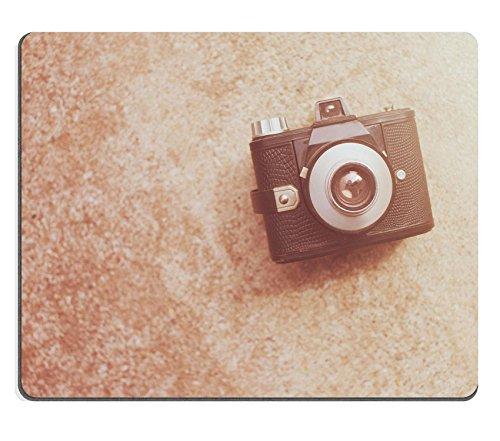 luxlady Mousepads Vintage Retro Kamera mit Farbe Filter Bild 38913123Individuelle Art Desktop Laptop Gaming Mauspad