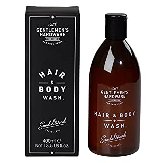 Gentlemen's Hardware Men's Hair And Body Wash - Black