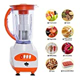 BMS Lifestyle Expert 550 W Porcelain Bone China Juicer Mixer Grinder with Dry Grinding and Includes Fruit Filter Attachment (White)