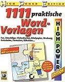 1111 Word-Vorlagen