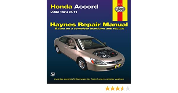 honda accord automotive repair manual 2003 2011 haynes automotive rh amazon co uk haynes manual honda accord 2004 haynes manual honda accord 2004