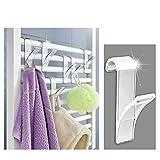 Appendini porta asciugamani, per termoarredo, confezione da 6 immagine