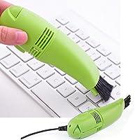 HOMIES INTERNATIONAL Portable Computer Keyboard USB Mini Vacuum Cleaner (10x3.4x4 cms, Random Colour)