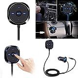 Gaddrt Bluetooth 4.0wireless Music Receiver 3.5mm Adapter Handsfree Car AUX speaker