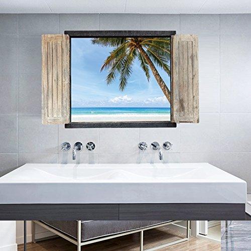 kreative-3d-falsche-windows-landschaften-coconut-beach-tapeten-schlafzimmer-restaurant-wohnzimmer-sc