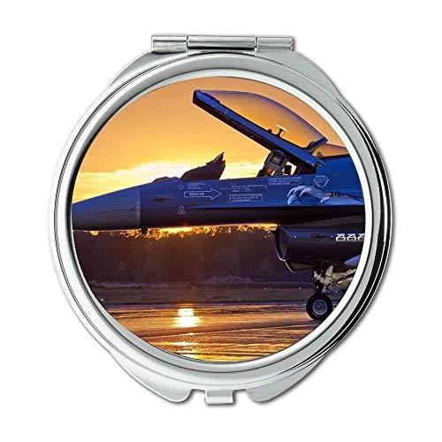 Yanteng Kampfflugzeug, Spiegel, Schminkspiegel, Straßenkämpfer Kostüm, Taschenspiegel, tragbarer Spiegel