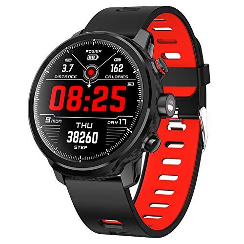 Fitness tracker L5, Orologio Smartwatch Impermeabile, frequenza cardiaca e monitoraggio della Pressione arteriosa, per Uomo e...