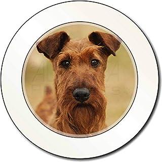 Irish -Terrier-Hund AutovignetteGenehmigungsinhaber Geschenk