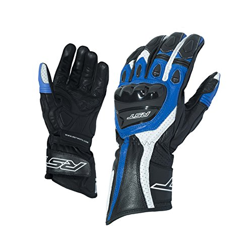 RST 2085 R-18 Semi-Sport CE Blau Motorrad Handschuh Grobe M 09