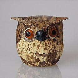 OLQMY-Productos de bambú, artesanía, brotes de bambú preparados piel, bambú té favores decoraciones, accesorios para el hogar,BUHO