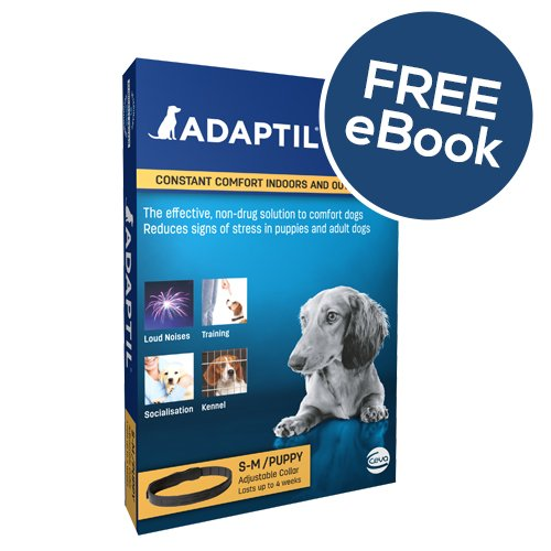 ADAPTIL Collar Small – INCLUDES EXCLUSIVE PETWELL® / ADAPTIL® E BOOK