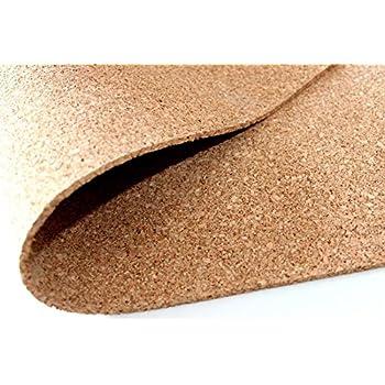 Pinnwand korkplatte 100 x 50 cm st rken 2 mm feine k rnung hochelastisch und antistatisch - Korkwand baumarkt ...