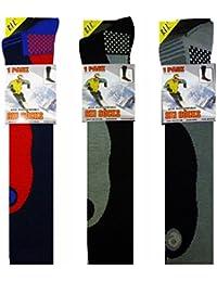 4 Pairs Men's Ski Socks Long Hose Socks UK 6-11 Eur 39-45 Best Quality