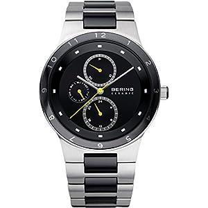 BERING Herren-Armbanduhr Analog Quarz Edelstahl 32339-722