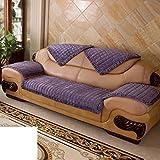 Sofa cushions,fabric anti-slip european simple modern leather cushion-E 65x60cm(26x24inch)
