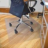 AllRight Chair Mat Carpet Protection PVC Clear Transparent for Hard Floors 120 x 90CM