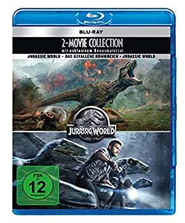 Jurassic World - 2 Movie Collection (2 Blu-rays + 2 DVD-Bonusdiscs)