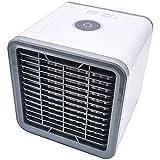 Mini Luftkühler, 3 in 1 Luftkühler Luftbefeuchter und Luftreiniger Ventilator mit USB Anschluß für Büro Familie Schlafzimmer Reisen Camping