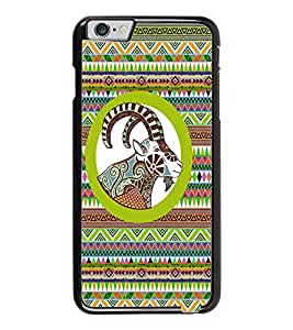 PrintDhaba Zodiac Aries D-5797 Back Case Cover for APPLE IPHONE 6 (Multi-Coloured)