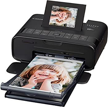 Selphy Cp1200 Wireless Compact Photo Printer- Black 4