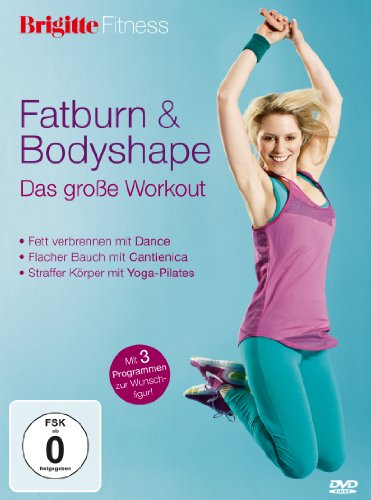 Brigitte Fitness - Fatburn & Bodyshape: Das große Workout