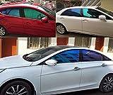 Hoho VLT25% auto Nano ceramica camaleonte finestra film 101,6cm x 3m roll per finestrini laterali auto