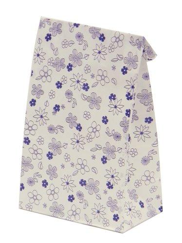 Pearl Cuore con un sacchetto di carta oleata caramella fiore blu 5 pezzi D-1167 (Giappone import / Il pacchetto e il manuale sono in