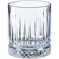 Paşabahçe Elysia Viski Bardağı, Sade, 355 ml, 4 Parça