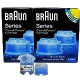 2er Pack - Braun Clean & Renew CCR 2 - 2 x 170ml