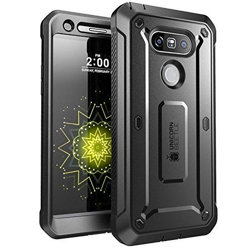 SUPCASE LG G5Schutzhülle, Ganzkörper-Rugged Case mit integriertem Displayschutz für LG G52016Release, Unicorn Beetle PRO Serie-Retail Paket