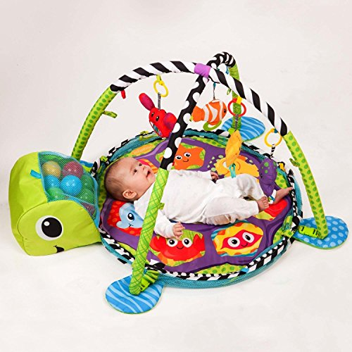 Olly Polly Baby Play Gym Mat Grow With Me 3 in 1