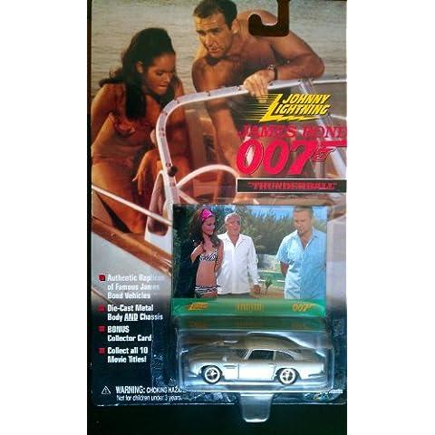 Johnny Lightning James Bond Thunderball Aston Martin DB5 SILVER Coupe by Johnny Lightning