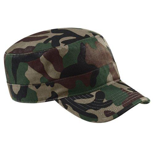 Beechfield - Casquette camouflage style armée 100% coton