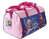 Disney Frozen – Die Eiskönigin Sporttasche plus Sticker Bogen (Rosa)