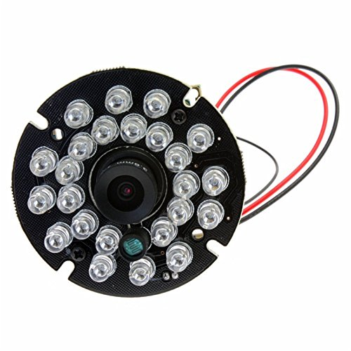 ELP 0.3MP 640 * 480P OV7725 CMOSIR cut & IR LED Nachtsicht Mini-USB-IR-Kamera-Modul (3.6mm Objektiv) Mini-board-kamera