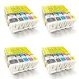 ColorJoy PGI-570XL CLI-571XL Brand New Cartouches d'encre Compatible pour Imprimantes...