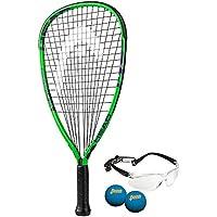 Head MX huracán racquetball unidades, con cordel, 35/8pulgadas Grip
