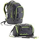 satch by Ergobag Phantom 2-teiliges Set Rucksack & Sporttasche