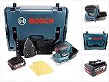 Bosch Professional GSS 18 V-10 Akku Schwingschleifer in L-Boxx + 1 x GBA 5,0 Ah Akku