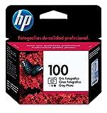 HP 100- Cartucho de impresión fotográfica (gris)