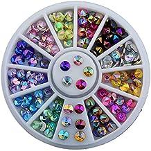 Surtido de piedras brillantes para decoración de uñas, de acrílico, ...