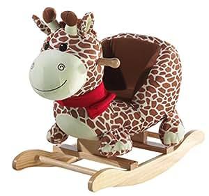 heunec 726574 jouet de premier age girafe bascule jeux et jouets. Black Bedroom Furniture Sets. Home Design Ideas