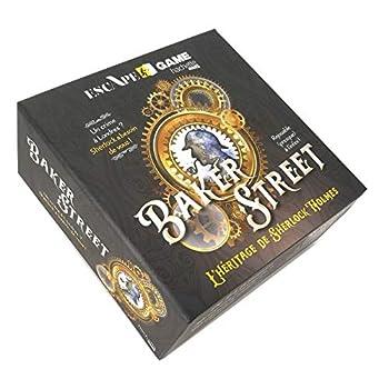 Boîte escape game Baker Street: L'héritage de Sherlock Holmes