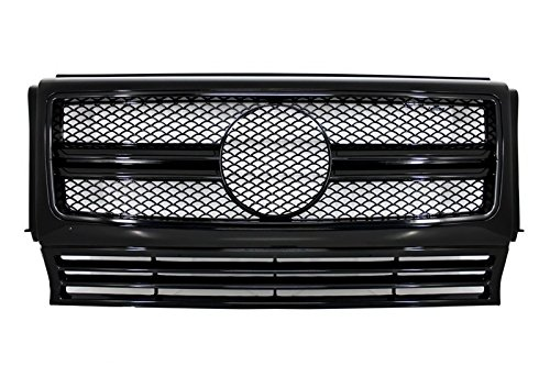 Kitt Fgmbw463amgb 90–12 Grille frontale AMG Motif piano Full Black Edition