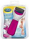 Scholl - Velvet Smooth Express Pedi - Rape électrique rose aux cristaux de diamants anti-callosités  pour les pieds...