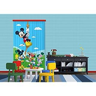 Gardine/Vorhang FCC L 4106 Kinderzimmer Disney Mickey Mouse